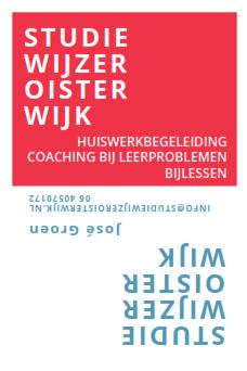Studiewijzer Oisterwijk